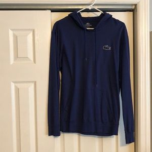 Lacoste like new hooded t shirt